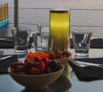 Lampe sans fil LED rechargeable Gamme PRESTIGE ARABIC pour hôtel, restaurant...